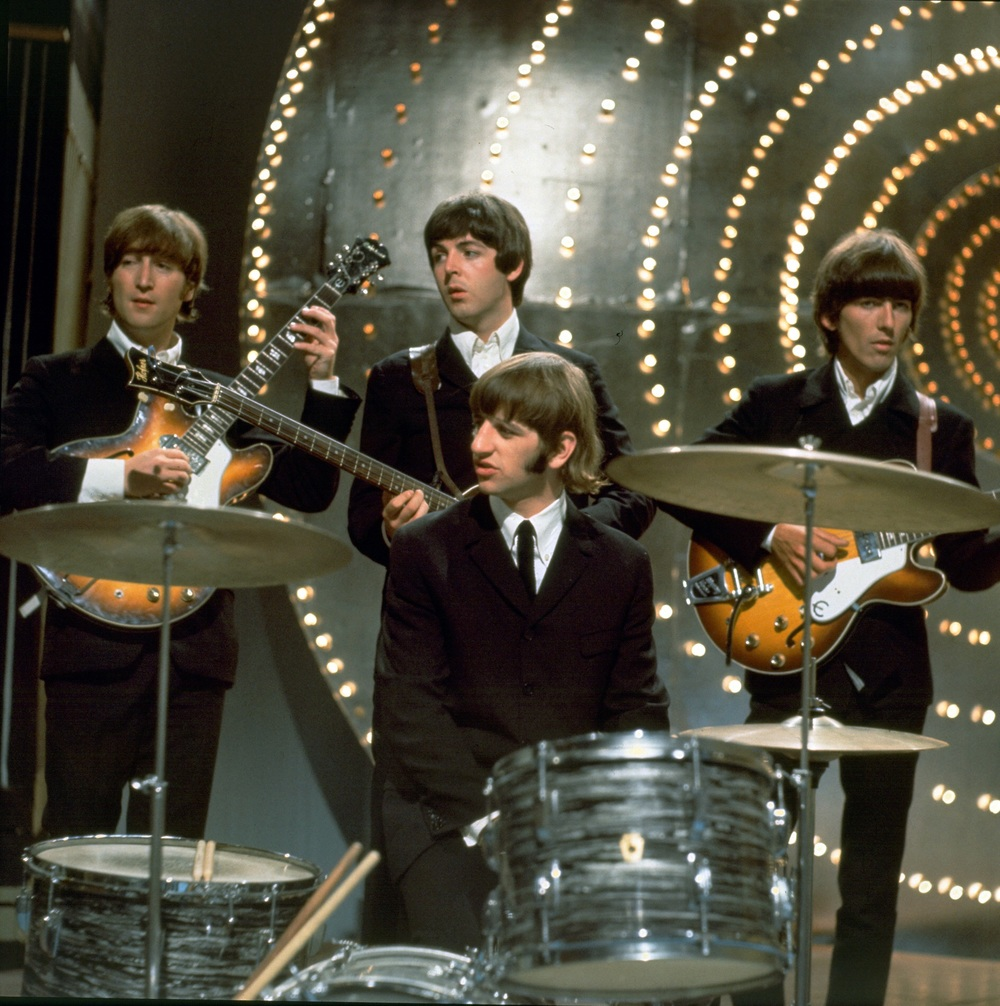 The Beatles on Top of the Pops, June 16th, 1966.