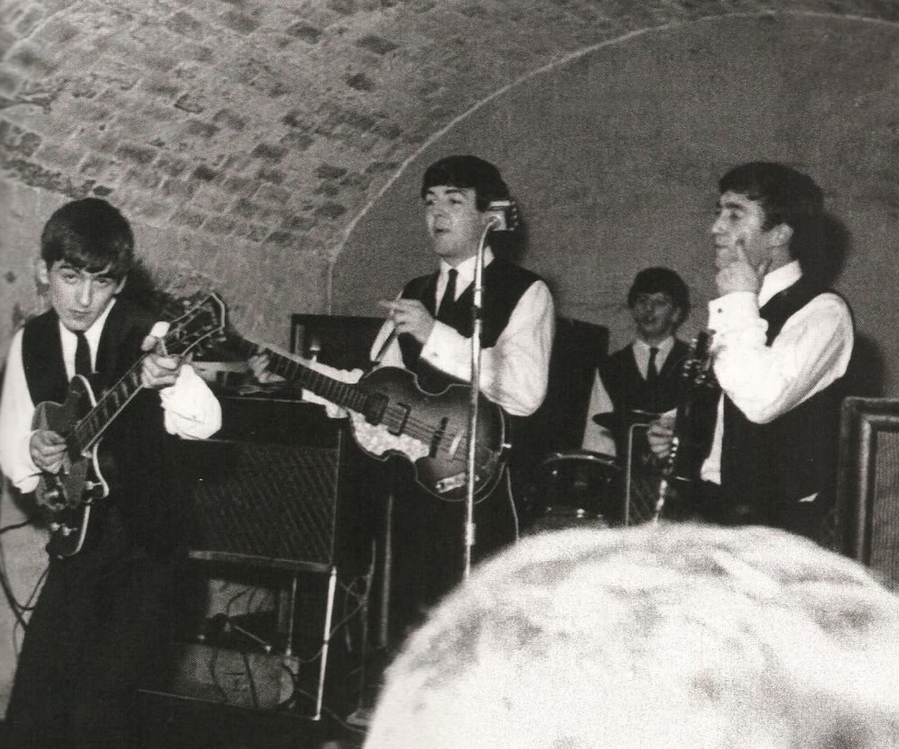 The Beatles in the Cavern with Ringo, 1962