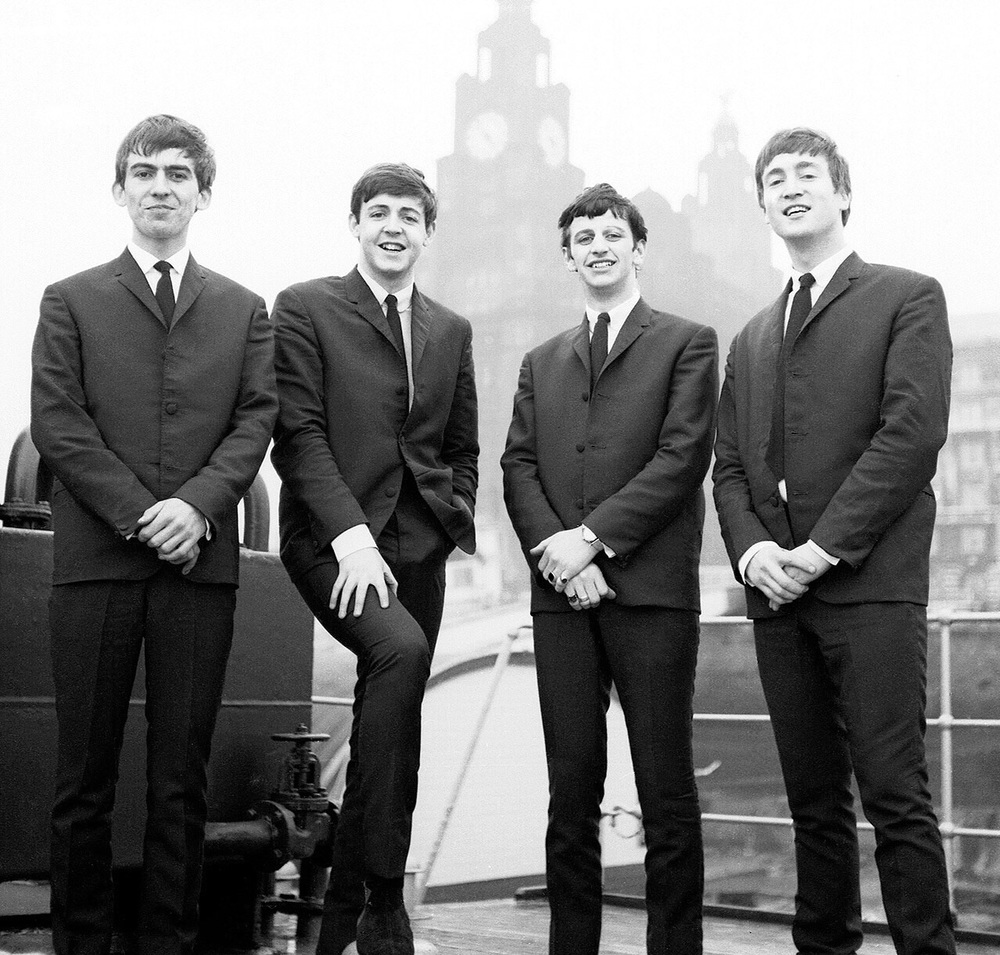E arly Beatles' photo shoot, 1962.