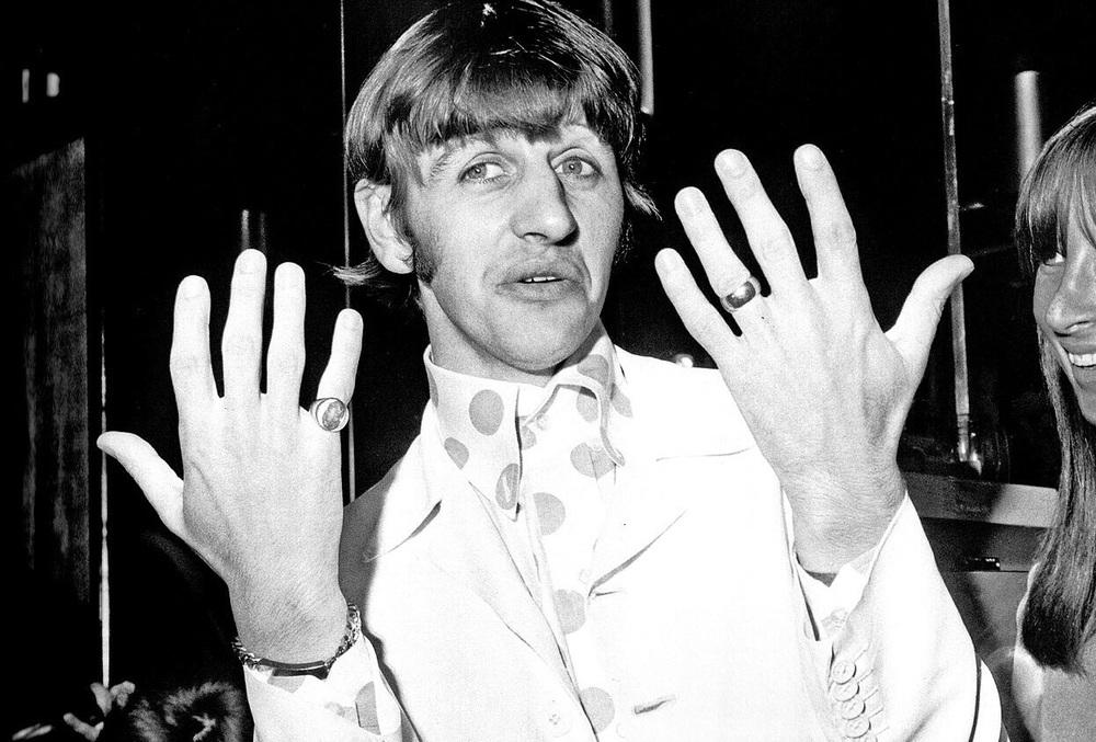 Ringo Starr, 1968.