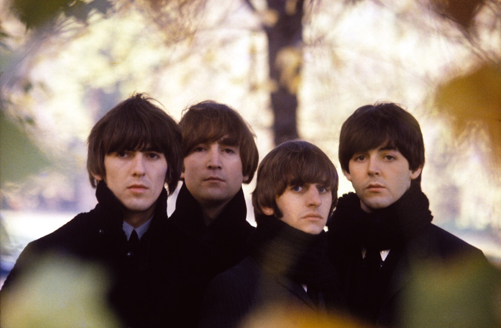 Beatles for Sale photo shoot by Robert Freeman, 1964.