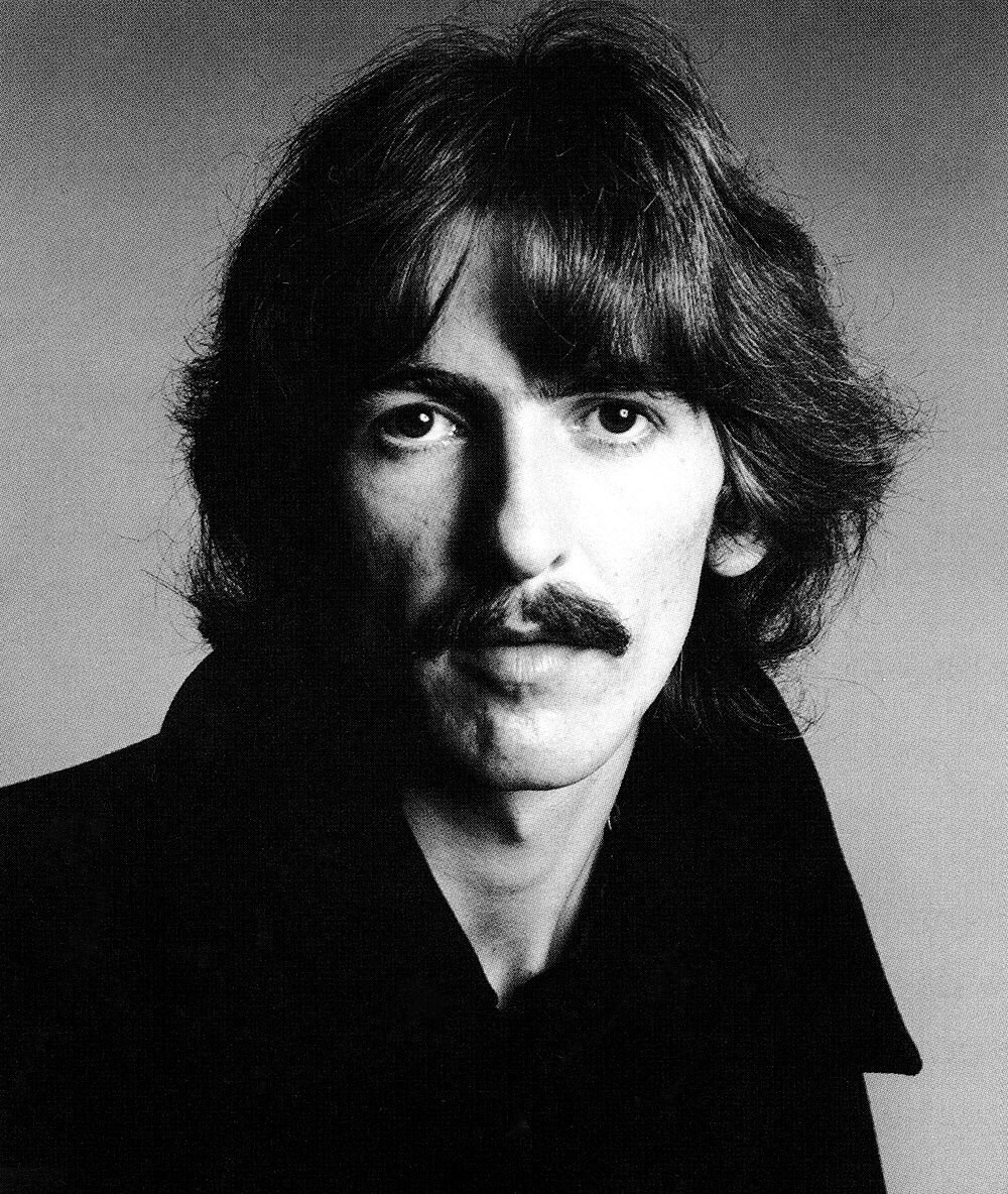 George Harrison photographed by Richard Avedon, August 11th, 1967.