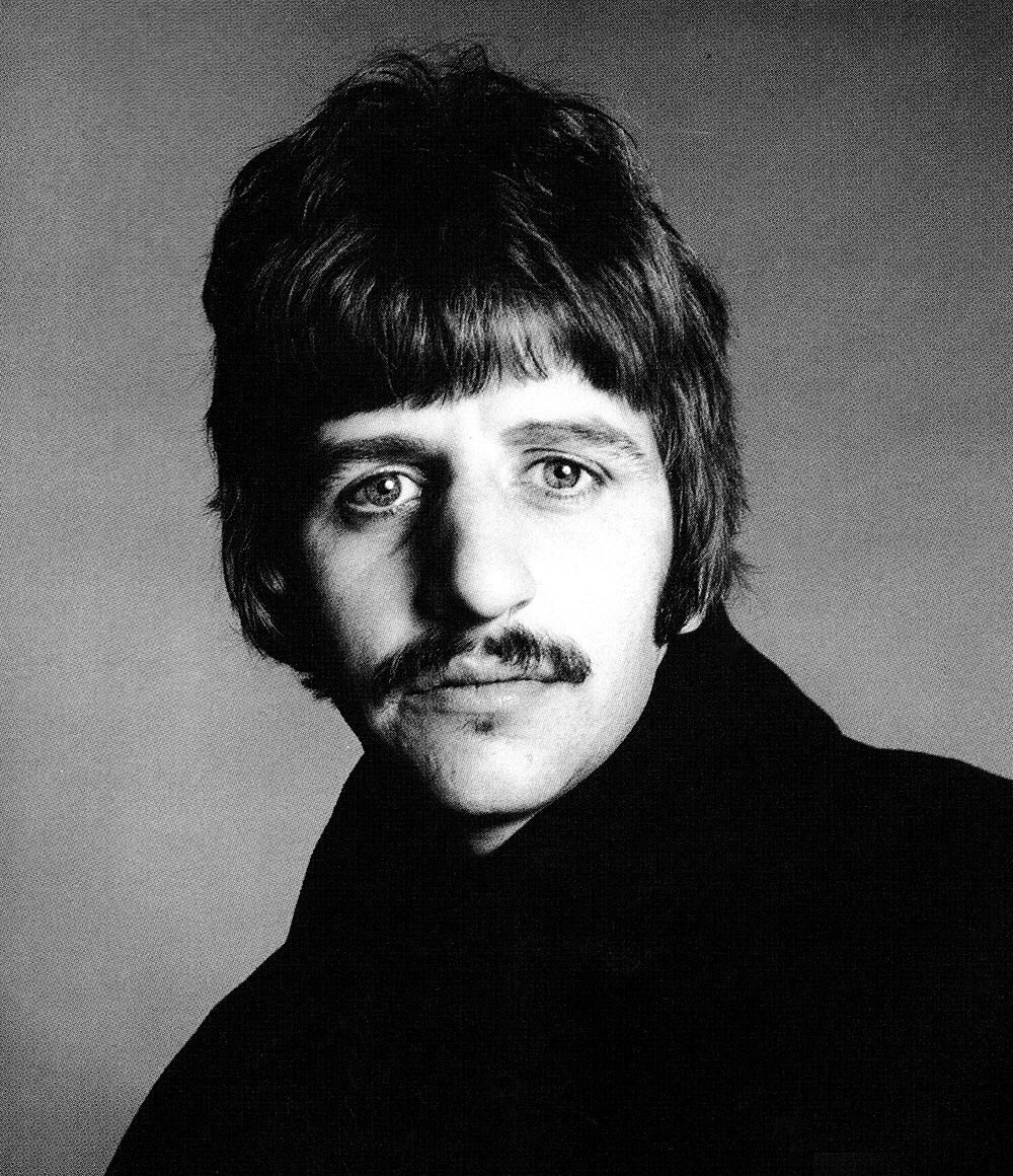 Ringo Starr photographed by Richard Avedon, August 11th, 1967.
