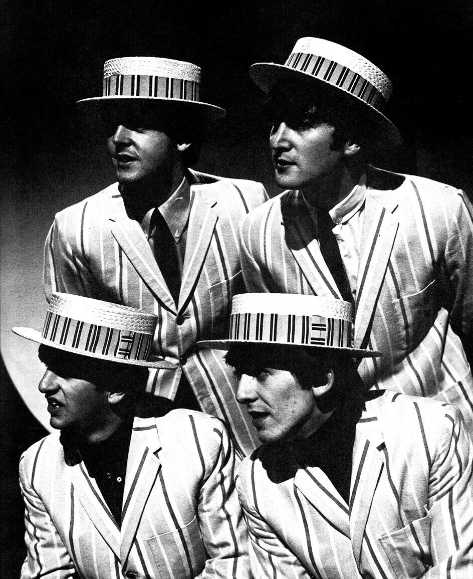 T he Beatles on the Morecambe and Wise Show, December 2nd, 1963.