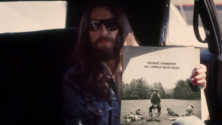 George Harrison Photo Shoot For All Things Must Pass 1970