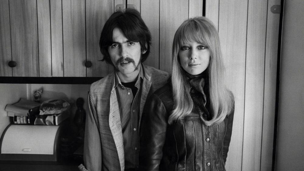 George Harrison and Pattie Boyd, 1967.