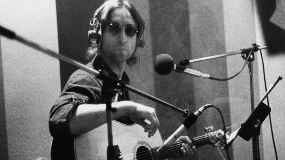 John lennon recording Double Fantasy, 1980.