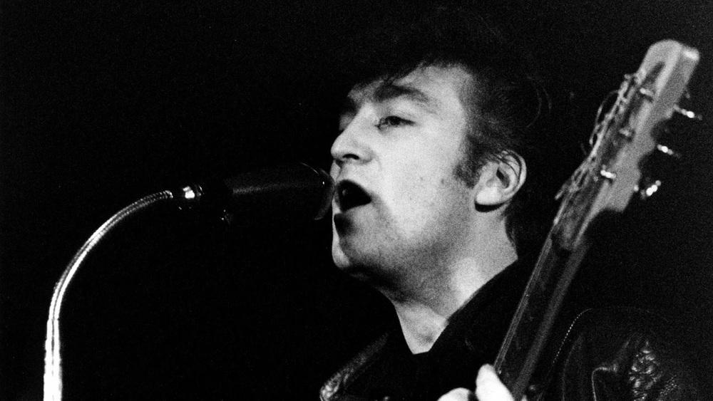 John Lennon in Hamburg, 1960.