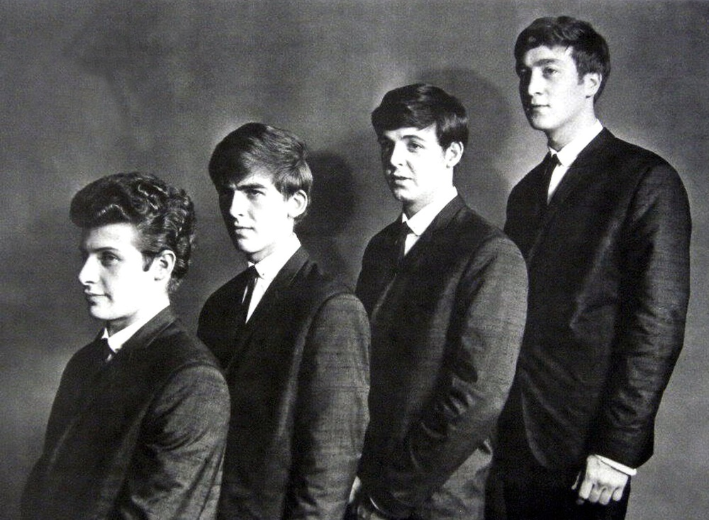 The Beatles with Pete Best, 1962.