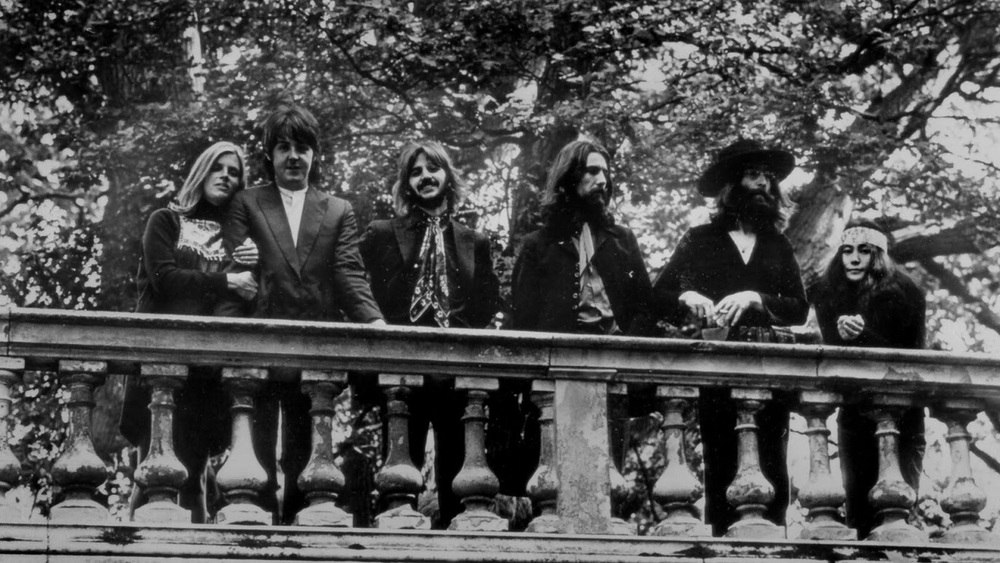 One of the last photos of the Beatles, August 22nd, 1969.