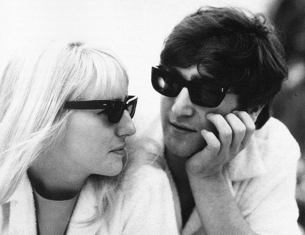 John and Cynthia Lennon, 1964.