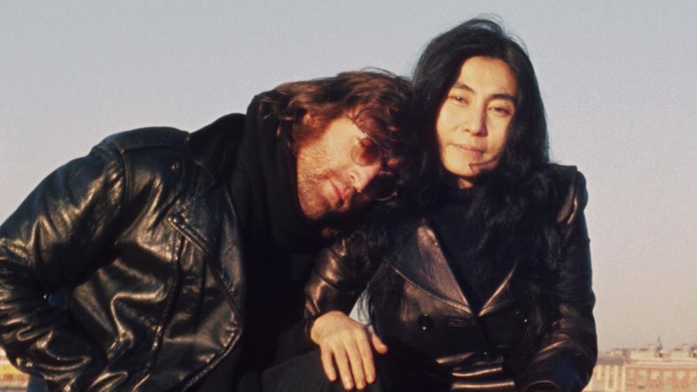 John Lennon and Yoko Ono in New York, 1971.