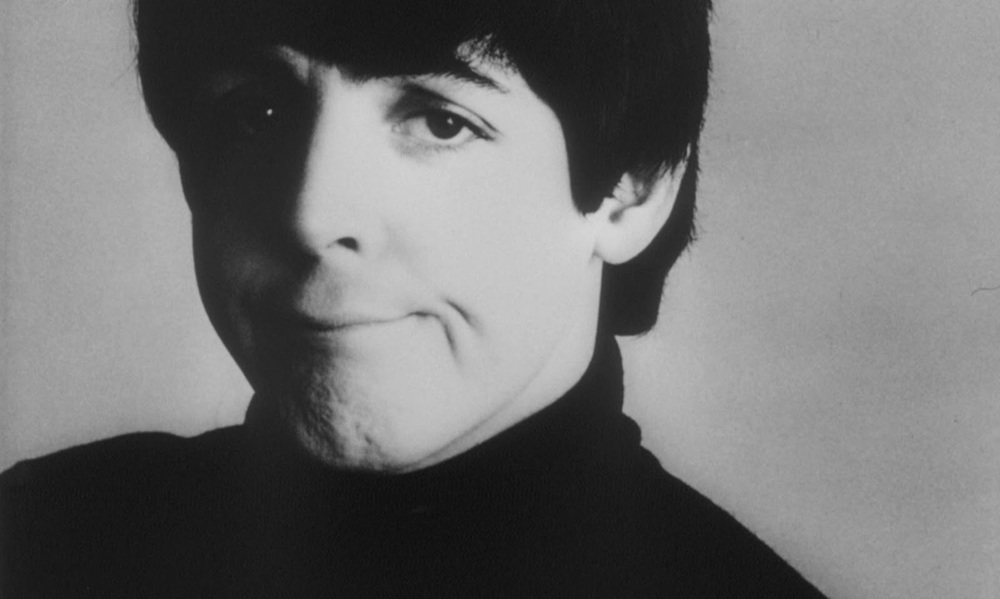 Paul McCartney photo shoot for A Hard Day's Night, 1964.