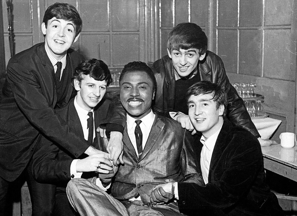 The Beatles with Little Richard, 1963.