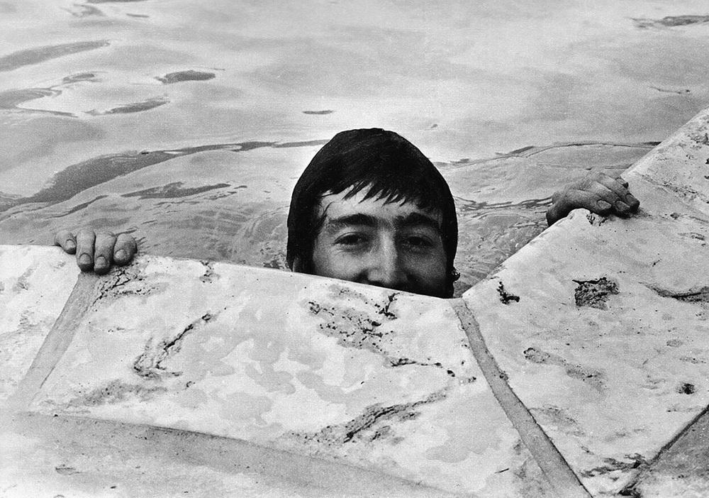 John Lennon in Miami, February 1964.