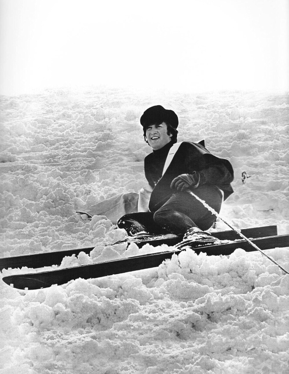 John Lennon   in Obertauern, Austria, March 1965.