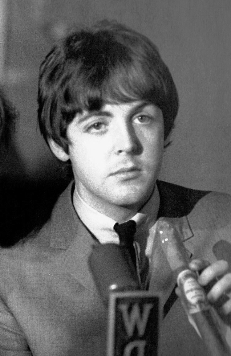 Paul McCartney At A Beatles Press Conference 1965