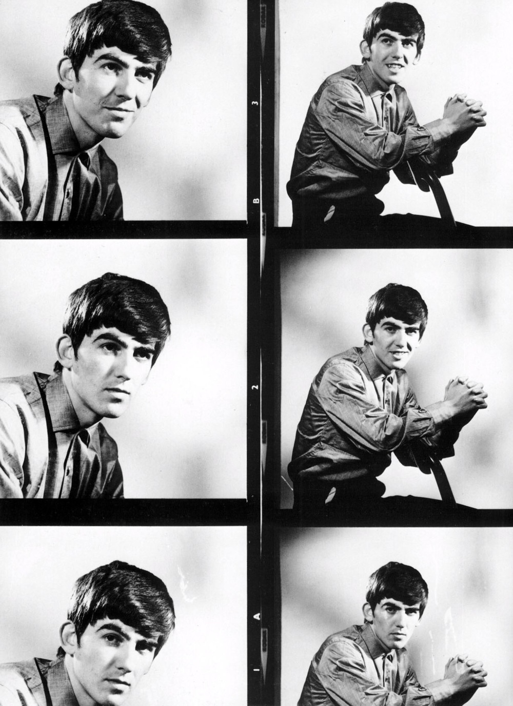 George Harrison photo shoot, 1963