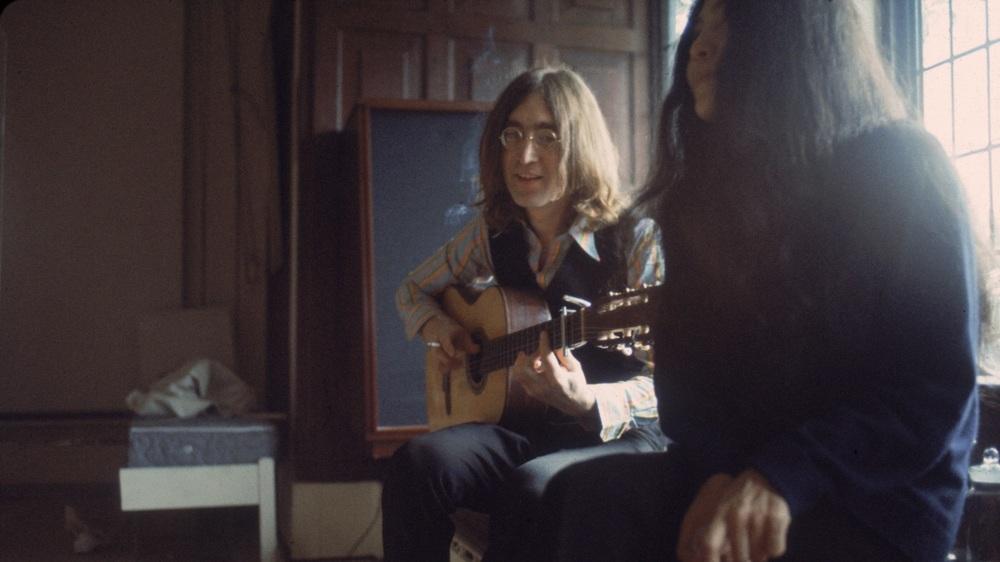 John Lennon and Yoko Ono, circa 1969.