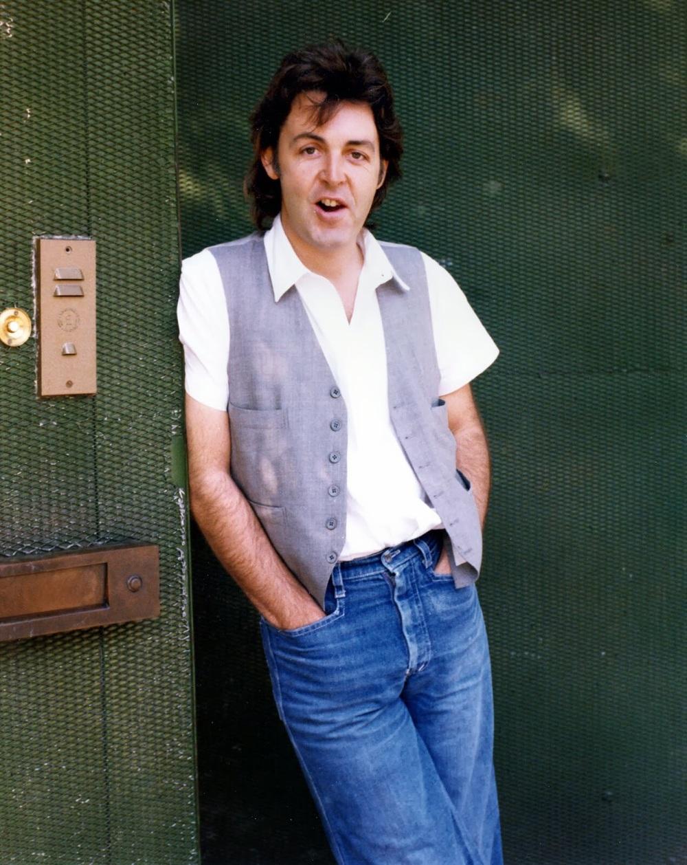 Paul McCartney 1977.