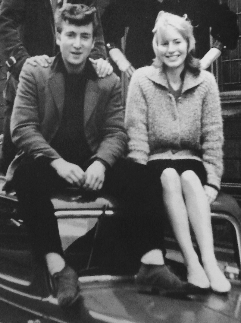 John Lennon and Cynthia Powell, circa 1958.