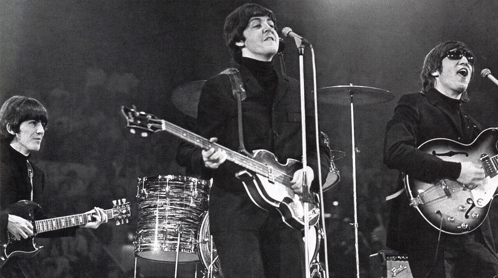 The Beatles live, 1966.