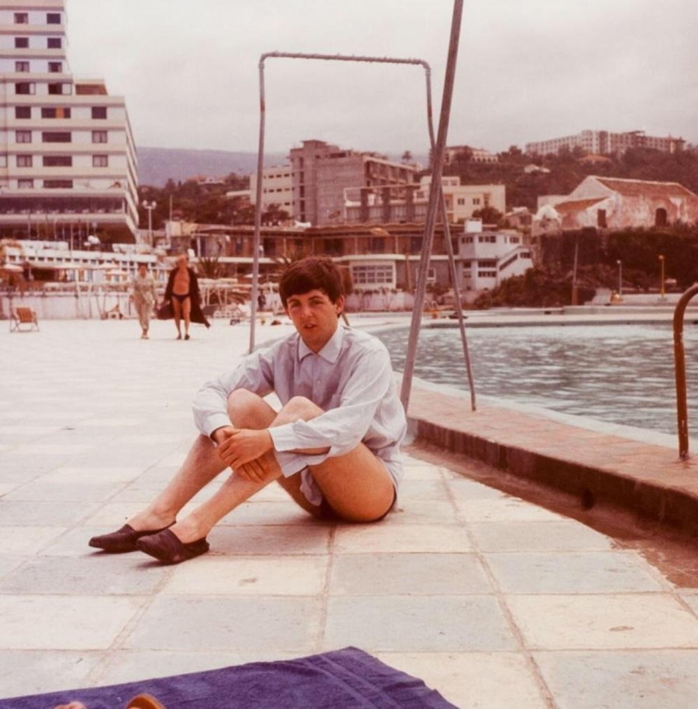 Paul McCartney in Tenerife, April 1963.