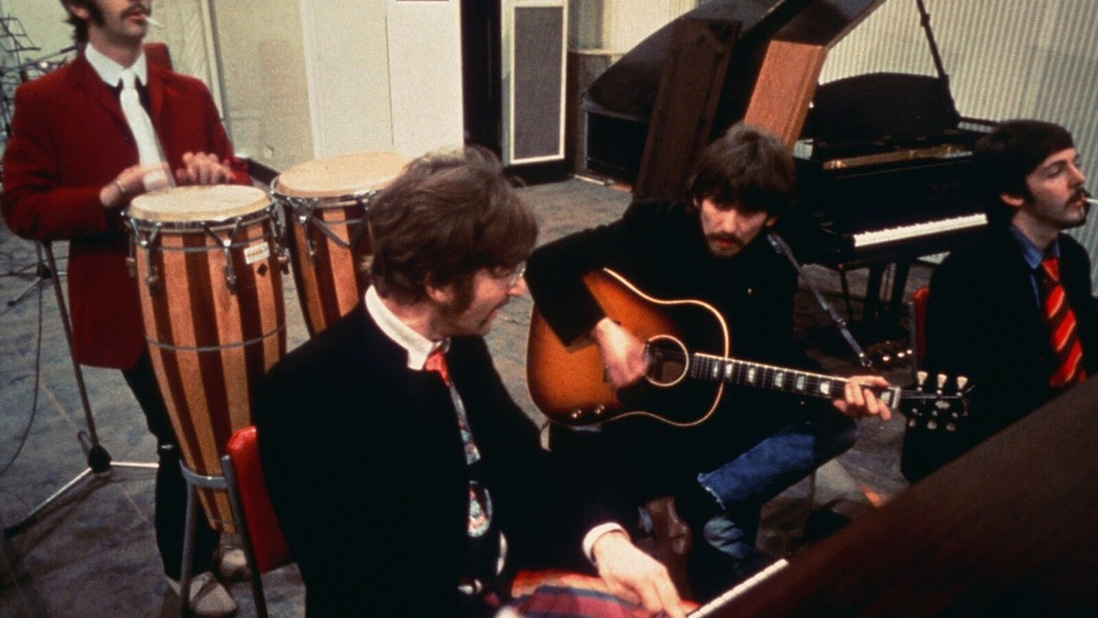 The Beatles recording Sgt. Pepper's Lonely Hearts Club band, 1967.