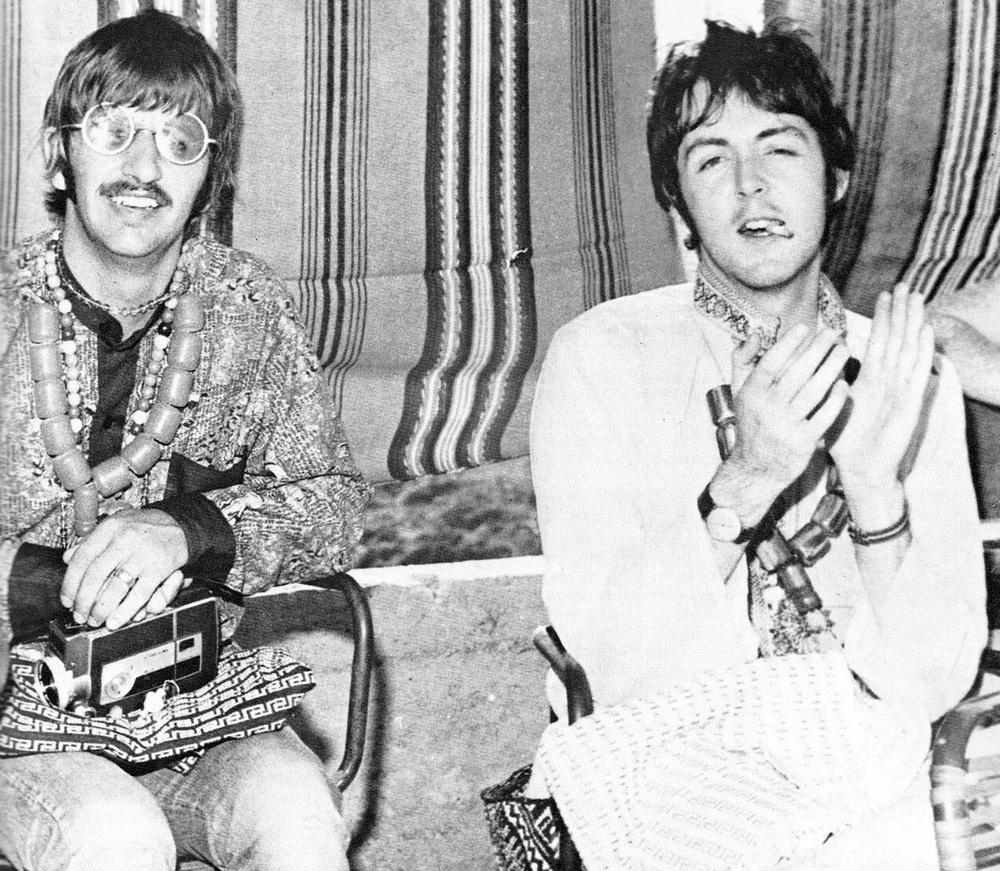 Ringo Starr And Paul McCartney 1967