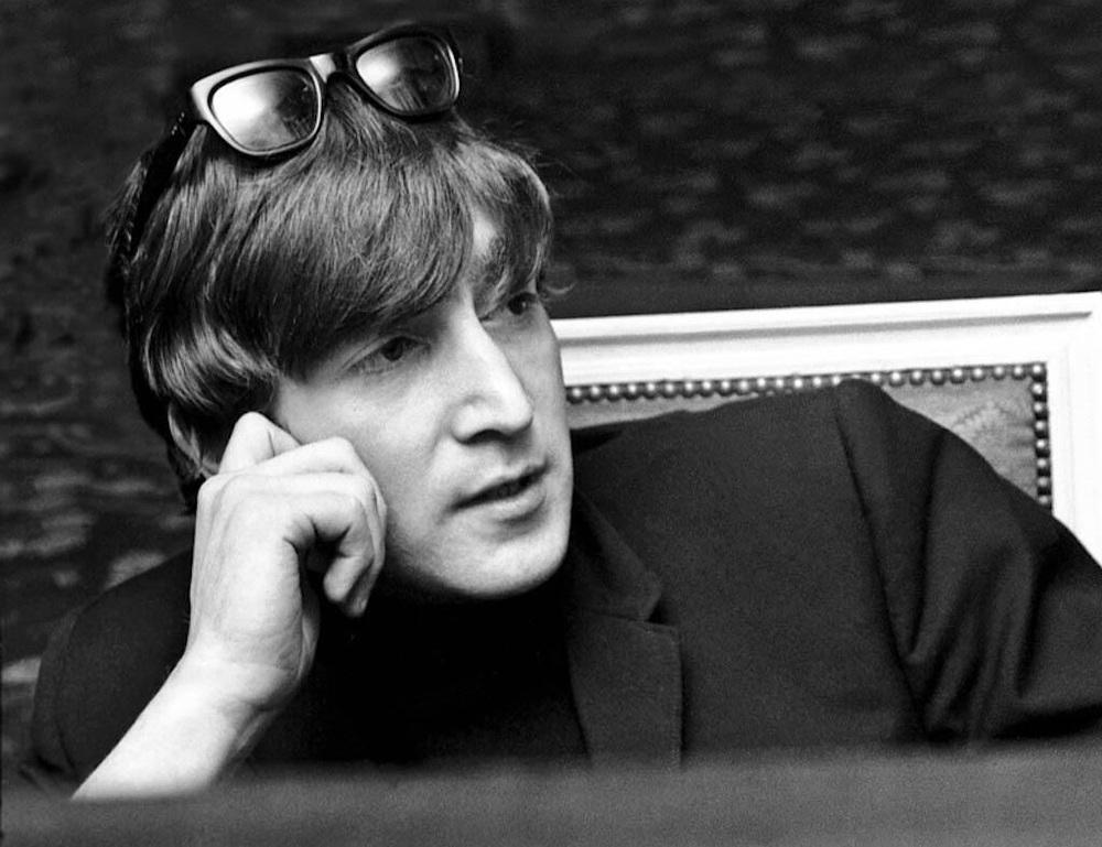 John Lennon photographed circa 1964.