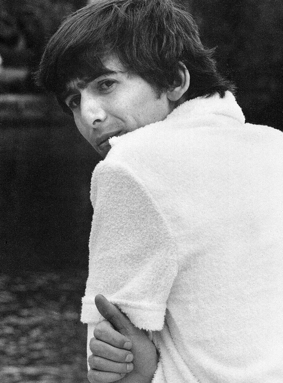 George Harrison in Miami, 1964.