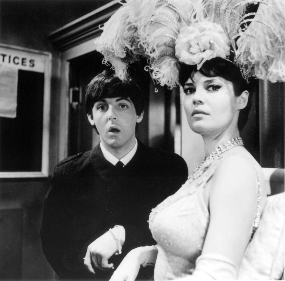 Paul McCartney on the set of A Hard Day's Night, 1964.