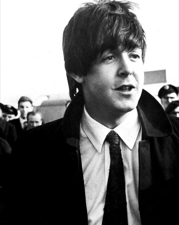 Paul McCartney circa 1965.