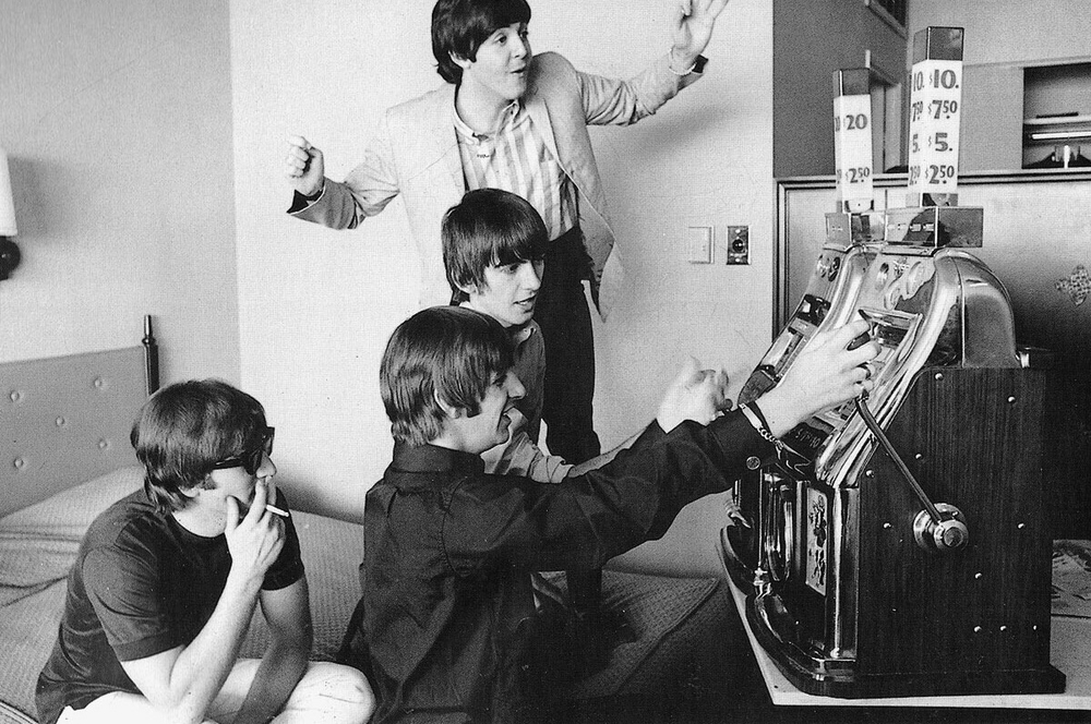 The Beatles in the US. 1964.
