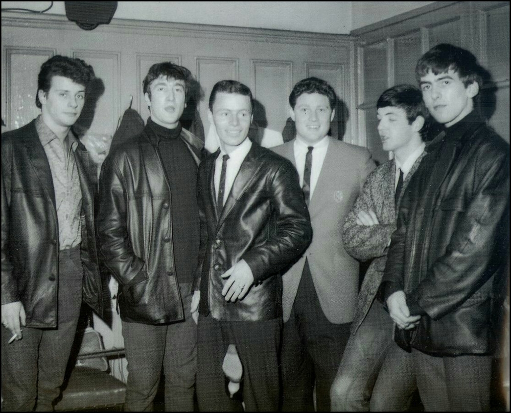 The Beatles with Pete Best, circa 1961.