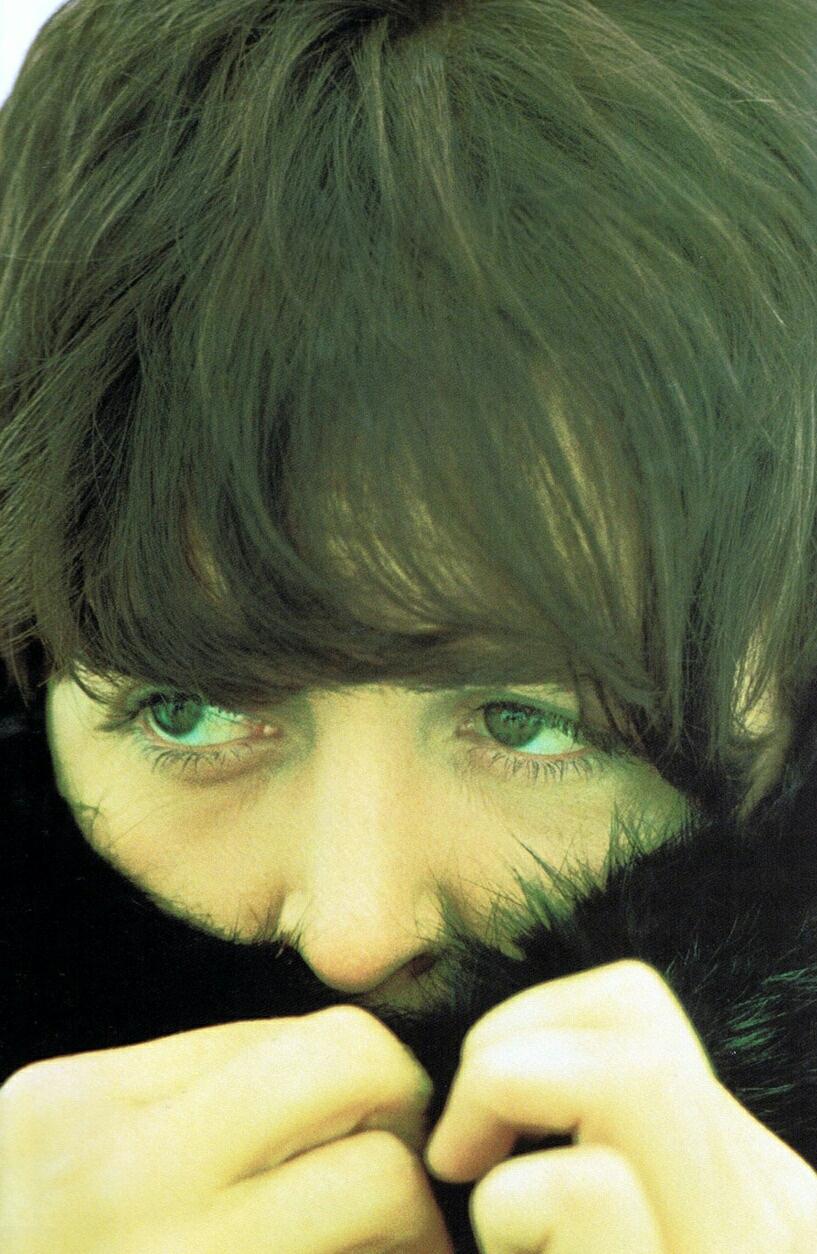 Paul McCartney filming Help!, 1965.
