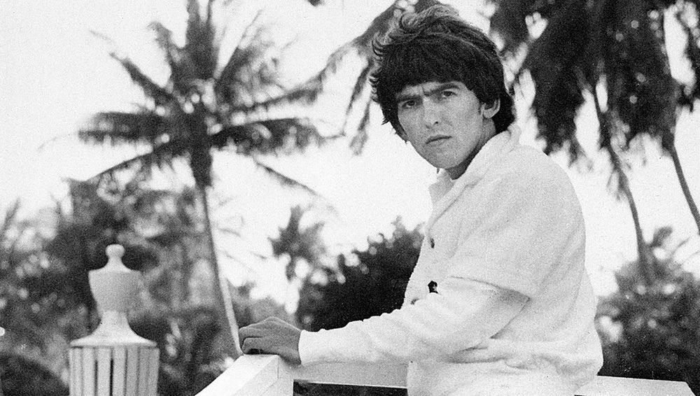 George Harrison in Miami, 1964