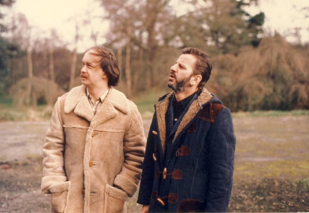Ringo Starr at Tittenhurst Park, circa 1984.