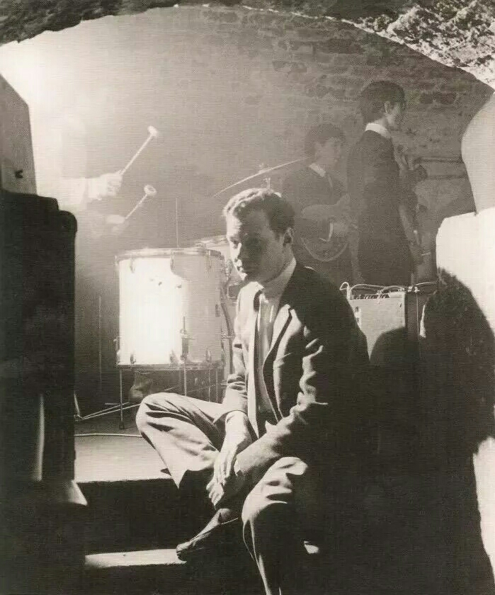 Brian Epstein at the Cavern, 1961.