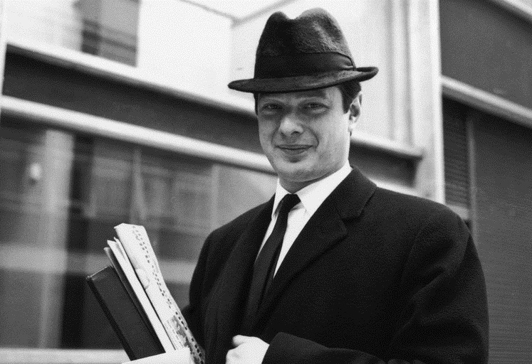 Brian Epstein circa 1963.