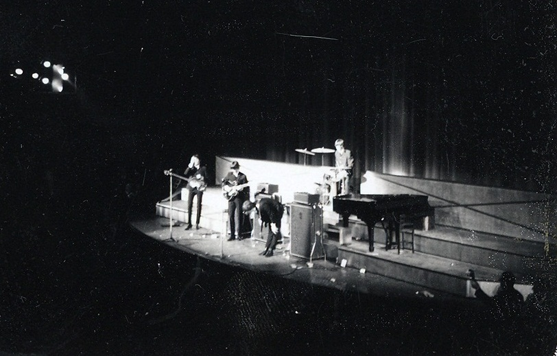 The Beatles at the Paramount Theatre, New York City, September 20th 1964.