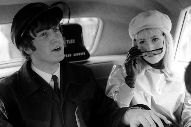 John and Cynthia Lennon photographed in the US, 1964.