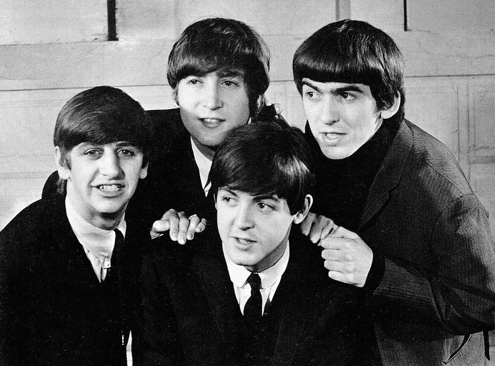 The Beatles circa 1964.