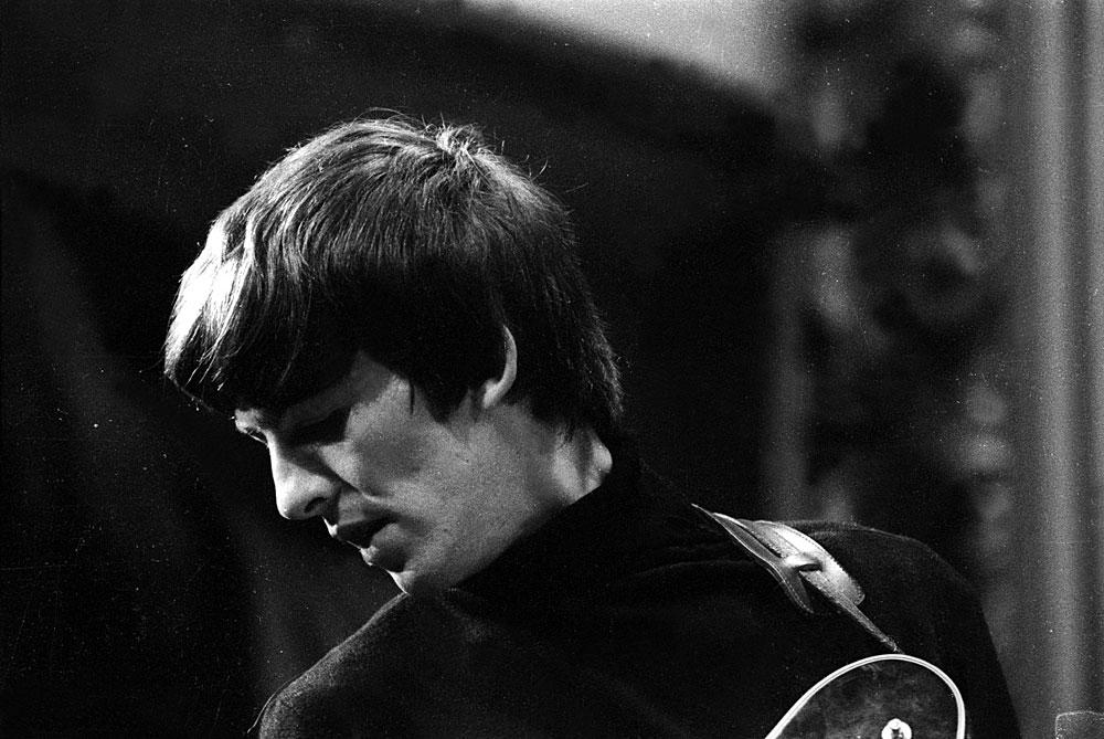George Harrison photographed circa 1964.
