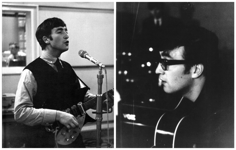 John Lennon photographed circa 1960-63.