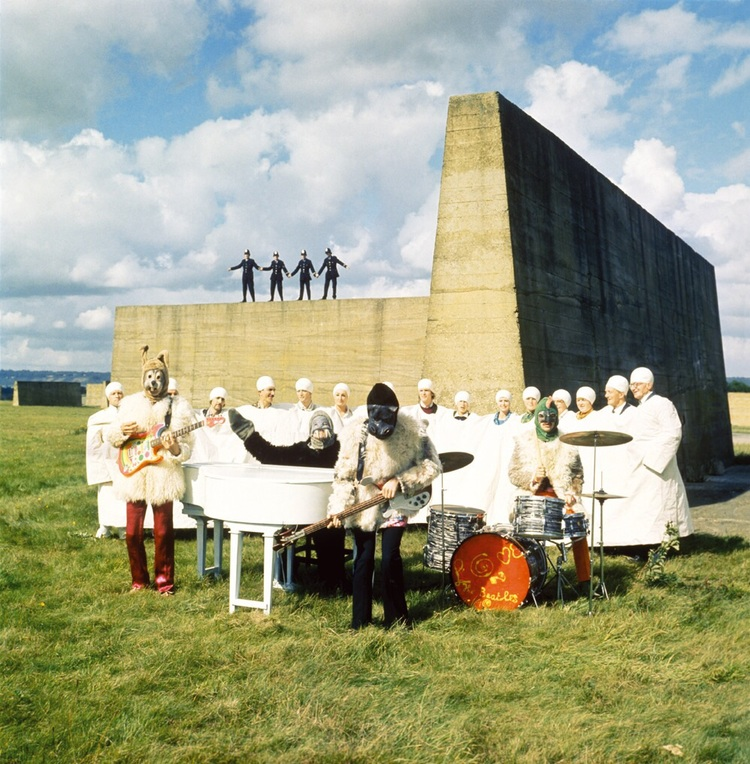 The Beatles filming I Am the Walrus in Maidstone, Kent, September 23rd 1967.