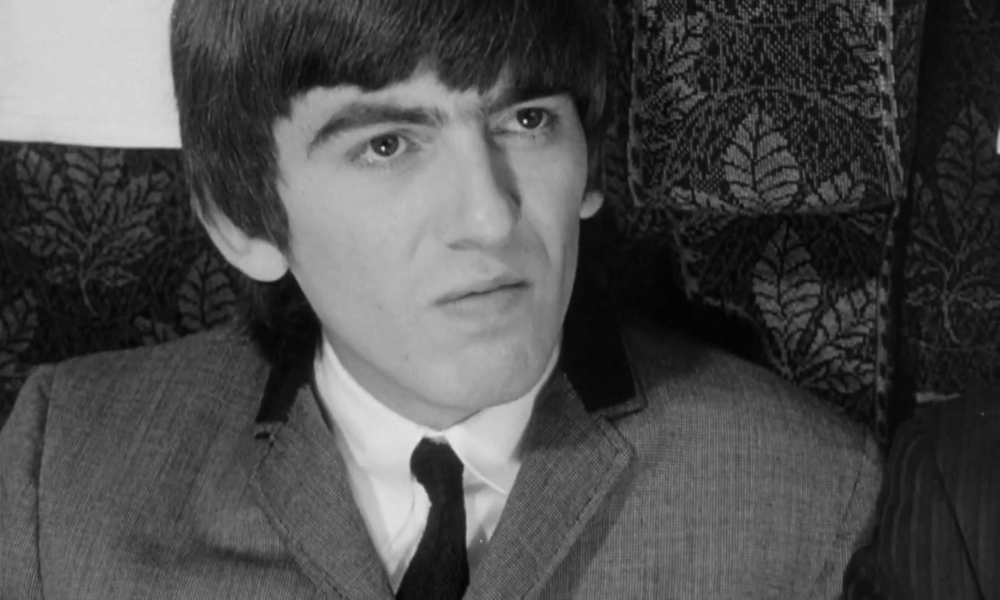 George Harrison Filming A Hard Days Night 1964