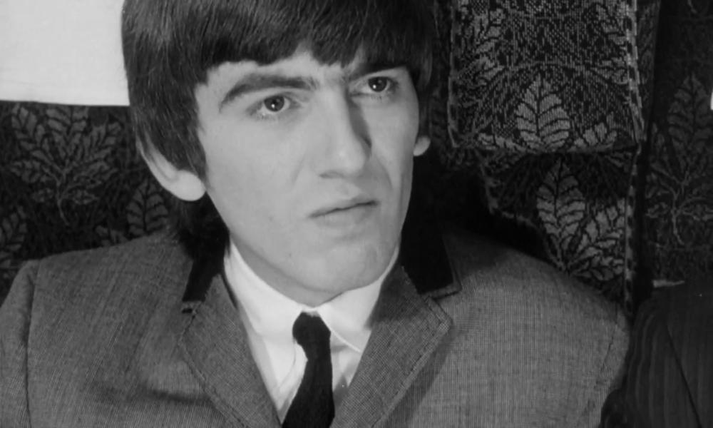 George Harrison Filming A Hard Days Night 1964