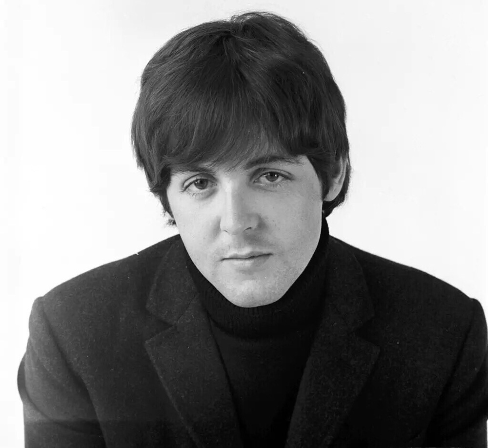 Paul McCartney photographed in 1966.