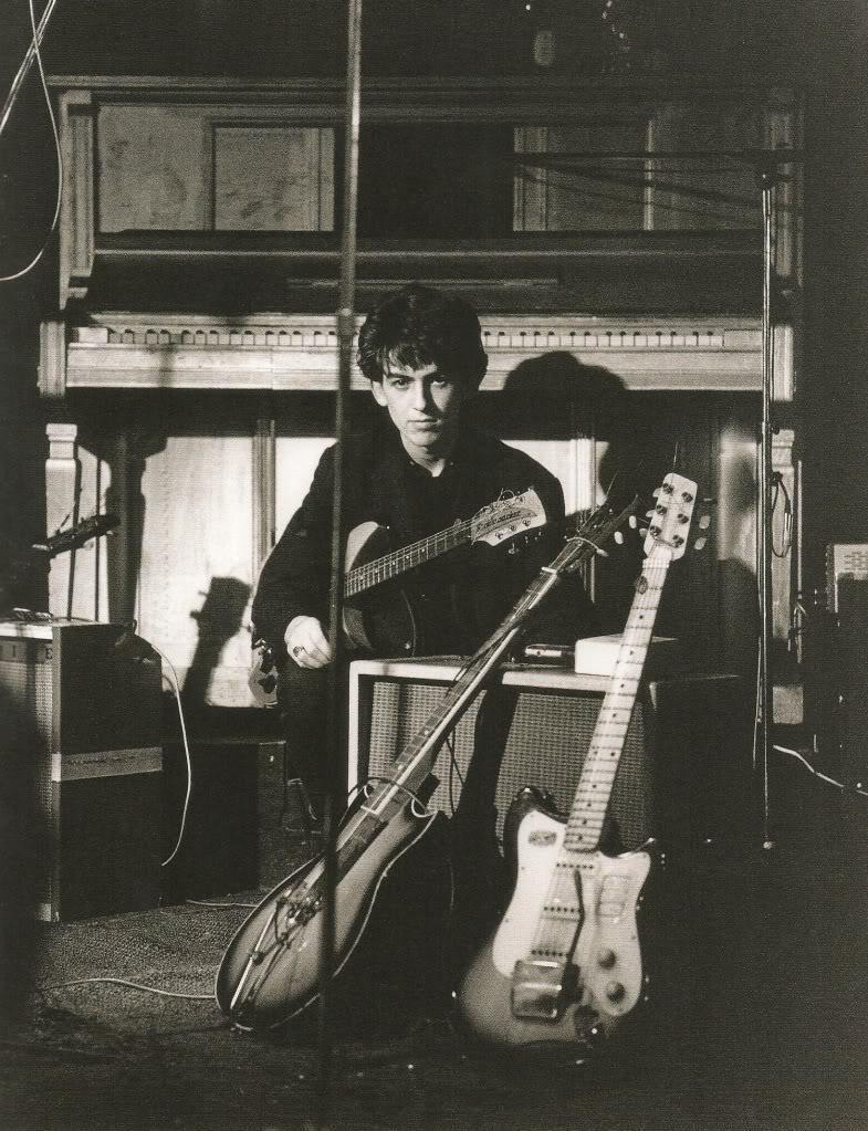 George Harrison in Hamburg, circa 1960.
